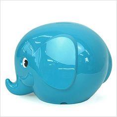 Spaarpot olifantje turquoise