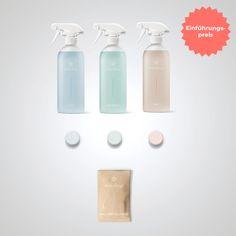 everdrop - Putzmittel Tabs // 1 Tab = 1 Reiniger = 1 Euro Starter Kit, Sconces, Wall Lights, Water Bottle, Hacks, Euro, Eco Friendly, Bathroom, Medium