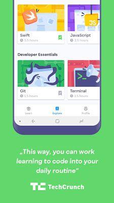 تحميل أفضل تطبيق لتعلم لغات البرمجة Mimo Learn To Code نسخة