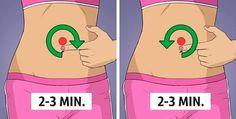 L'esercizio che sgonfia un addome dilatato in pochi minuti