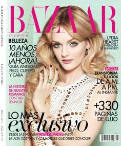 Harper's Bazaar En Español        Photographer: Benjamin Kanarek    Text: Toni Salamanca    Stylist: Vanessa Naudin    Hair: Topolino    Makeup: Rite Dell'Orco  Model: Lydia Hearst (me)
