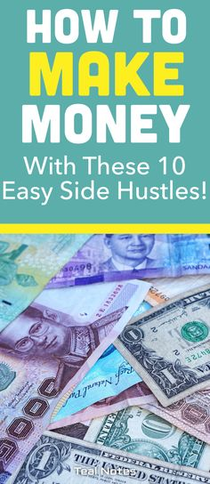 If you're looking for the easiest side hustles you can start this weekend check out a handy list of doable side hustles you can start while keeping your day