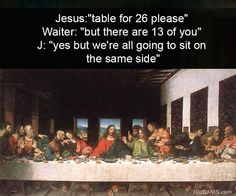 funny classical art history the last supper