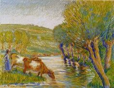 Camille Pissarro's Most Famous Painting | PaintingAll Art Gallery
