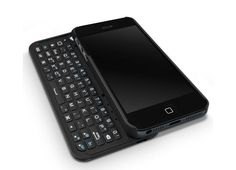 QWERTY keyboard case for your iPhone 5