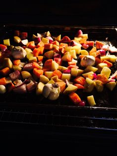 Roast Veggies & Garlic