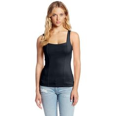 Only Hearts Women's Delicious 2 Ply Front Corset Tank and other apparel, accessories and trends. Browse and shop related looks.