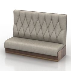 Sectional Sofa D Model Sofa Category Chairs Tables Sofas Cafe BarSofas