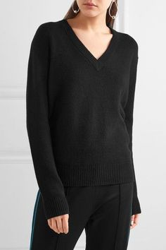 Joseph - Tie-back Cashmere Sweater - Black - medium