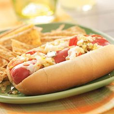 Hot Dogs with the Works