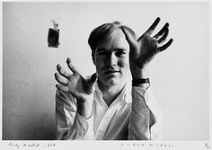 Portrait of Andy Warhol, 1958, printed later  Duane Michals (United States, Pennsylvania, born 1932)
