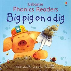 Big Pig On A Dig for children age 3 and up. Earned the 2000 Parent Council LTD Award.