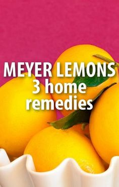 Get three ways you can use Meyer Lemons to boost your health and beauty, from heartburn to acne, in another exciting natural remedy solution from Dr Oz. http://www.recapo.com/dr-oz/dr-oz-natural-remedies/dr-oz-meyer-lemons-acne-remedy-heartburn-ice-cube-trick/