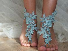 mint green beach sandals,Unique design, bridal sandals, accessories, wedding shoes, handmade lariat sandals, wedding bridal, bridesmaid