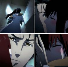 Gate – Kurisu and Okabe. This is the most adorable scene ever!Gate – Kurisu and Okabe. This is the most adorable scene ever! Steins Gate 0, Gate Pictures, Danshi Koukousei No Nichijou, Kurisu Makise, Barakamon, Hotarubi No Mori, Death Parade, Another Anime, Shinigami