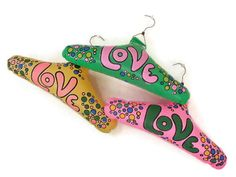 Groovy Inflatable LOVE Clothes Hangers by melmacparadise on Etsy Vintage Vanity, Vintage Perfume, Cosmetics Plus, Retro Room, Clothes Hangers, Coat Hanger, All You Need Is Love, Vintage Accessories, Flower Power