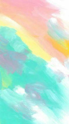 Watercolor Wallpaper, Painting Wallpaper, Tumblr Wallpaper, Colorful Wallpaper, Cool Wallpaper, Tattoo Watercolor, Wallpaper Quotes, Rainbow Wallpaper, Pastel Color Wallpaper
