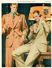 dapper 1920s men, U.S.