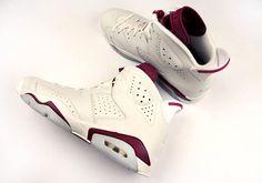 """Air Jordan 6 """"Maroon"""""""