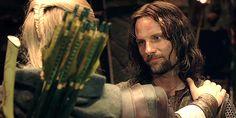 Aragorn and Legolas moments