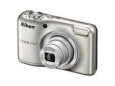 """Nikon Coolpix L29 - Cámara compacta de 16.1 Mp (Pantalla de 2.7"""", zoom óptico 5x), plata"""