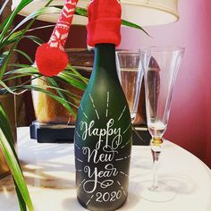 """Angie Bailey Art & Soul on Instagram: """"Happy New Year! 💫  Is there anything more exhilarating than the fresh start of a new year?   Wishing you Health, Happiness & an…"""" Fresh Start, The Fresh, New Years Decorations, Champagne Bottles, New Year Wishes, Have You Tried, Happy New Year, Happiness, Create"""