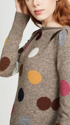 polka-dot Marc Jacobs sweater. Vera Regina · Ora Bolas. 8e7fa466ee0e4