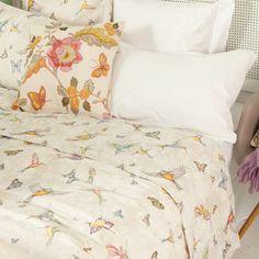 Zara Home hummingbird bed linen