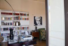 mammadisordine.blogspot.it Bookcase, Shelves, Interior, Home Decor, Houses, Shelving, Decoration Home, Indoor, Room Decor