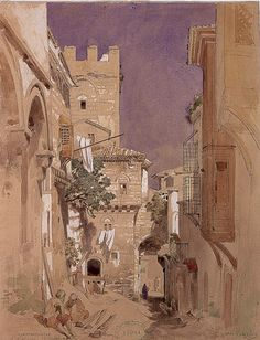 Les dessins de Jules Laurens (1825-1901) A Constantinople