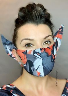 Using recycled PET bottles to create reusable plastic face shields! Hitting 2 targets at one time, t Diy Mask, Diy Face Mask, Face Masks, Graffiti, Elf Face, Face Face, Pocket Pattern, Nude Color, Mask Design