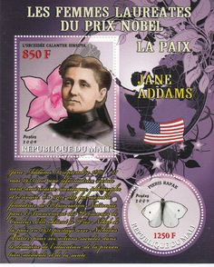 Jane Addams, Prix Nobel, Google Images, Stamp, Cover, Books, Movie Posters, Peace, Libros