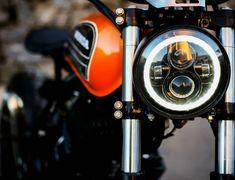 "Honda ""Aggressor by Lucky Custom Cafe Racer Honda, Cafe Racer Bikes, Cafe Racers, Bike Bmw, Moto Bike, Tracker Motorcycle, Cafe Racer Motorcycle, Custom Motorcycles, Custom Bikes"