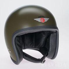Davida speedster Helmets:  Standard Mashed Green  Product Code: 90123