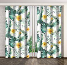 Hotové závěsy s květinovým motivem Curtains, Shower, Prints, Rain Shower Heads, Blinds, Showers, Draping, Picture Window Treatments, Window Treatments