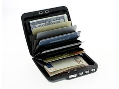 Mini Safe wallet.