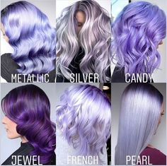 65 Fabulous Ombre Hair Ideas for a Sassy Look You can never go wrong with ombre hair when you're looking to give yourself a complete makeover. Take your hair on a wild adventure with these sassy ombre hair ideas. Light Purple Hair, Hair Color Purple, Hair Dye Colors, Cool Hair Color, Pastel Purple Hair, Purple Hair Streaks, Green Hair, Lavender Hair Colors, Lilac Hair