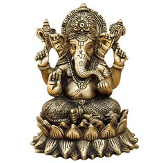 Ganesha Symbolism Bring Good Luck | India Online ShalinIndia Brings Out Ganesha Statues in 80 Postures for ...