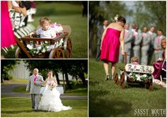 Wooden Wagon for the Ringbearer