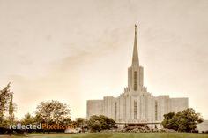 """Sacred Ground"" Jordan River LDS Temple http://reflectedpixel.zenfolio.com/ldstempleart/e10875183 Mormon"