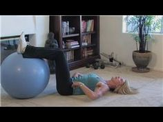 Build great abs for fast fat loss: stability ball exercises for your lower abs burst-training
