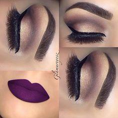Instagram photo by @makeupbyglamureyesz via ink361.com