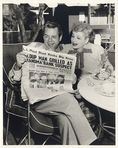 i love that Lucy is playing cards here; one my favorite pastimes.