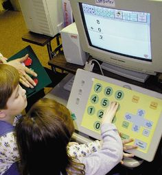 Large numbers on a keyboard and computer screens can be helpful to students with motor or visual disabilities and can be used in the classroom, in the computer lab and at home for assignments.