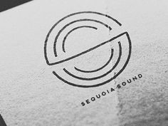 Dribbble - Sequoia Sound logo by Joshua Luke Smith Sound Logo, Wood Branding, Ring Logo, Web Design, Logo Design, Organic Logo, Sound Engineer, School Logo, Sound Design