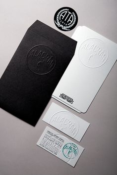 Print inspiration - love the letterpress