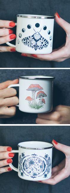 FennecDesignCo enamel mugs