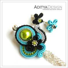 Puawai 206 unique copyright original green black от AdityaDesign, $29,00