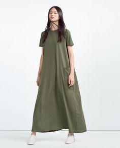 OVERSIZED DRESS-View All-DRESSES-WOMAN | ZARA United States