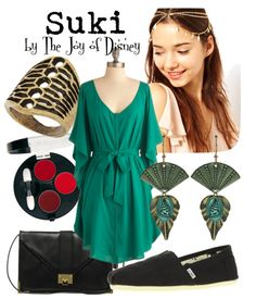 fashion inspired by avatar the last airbender | The Joy of Disney: Suki (Avatar: The Last Airbender)